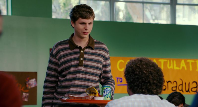 Sierra Mist (Mist Twst) and Michael Cera in Superbad (2007) Movie Product Placement