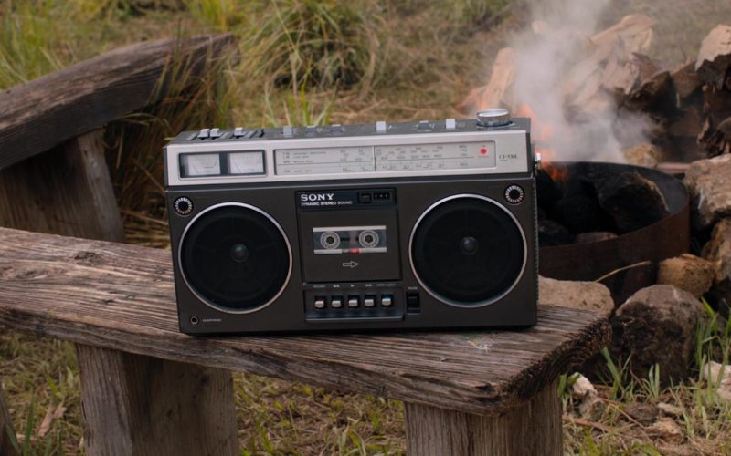 Sony Cassette Player in Jumanji Welcome to the Jungle (1)