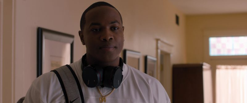 Sony Headphones and Nike Backpack Used by Ser'Darius William Blain in Jumanji: Welcome to the Jungle (2017) Movie Product Placement