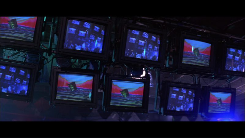 Sony Monitors/TV's in Hackers (1995) - Movie Product Placement