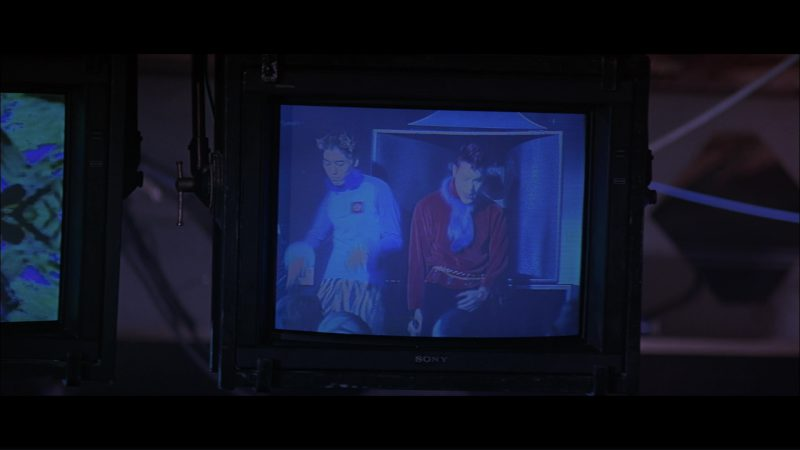 Sony Monitors/TV's in Hackers (1995) Movie Product Placement