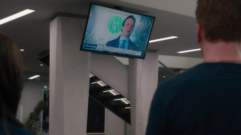 Sony TV and Bloomberg TV Channel in Billions: Tie Goes to the Runner (2018) - TV Show Product Placement