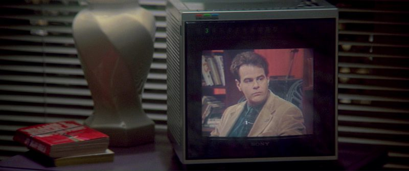 Sony TV Used by Sigourney Weaver in Ghostbusters (1984) Movie Product Placement
