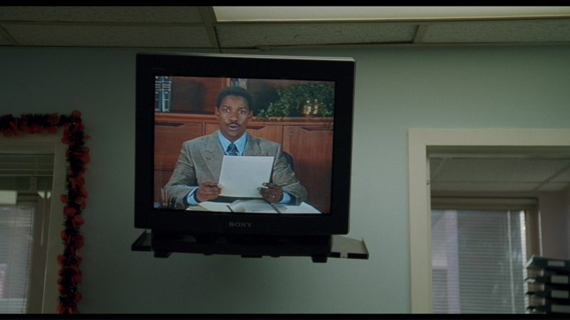 Sony TV in Philadelphia (1993) - Movie Product Placement