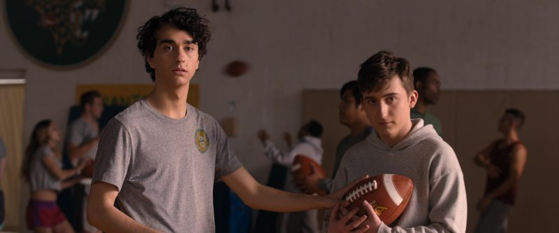 Spalding Alpha Leather Football Used by Alex Wolff in Jumanji: Welcome to the Jungle (2017) - Movie Product Placement