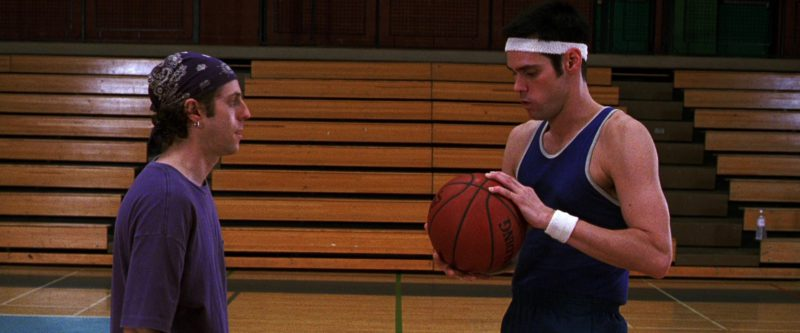 Spalding Basketball Used by Jim Carrey in The Cable Guy (1996) Movie Product Placement