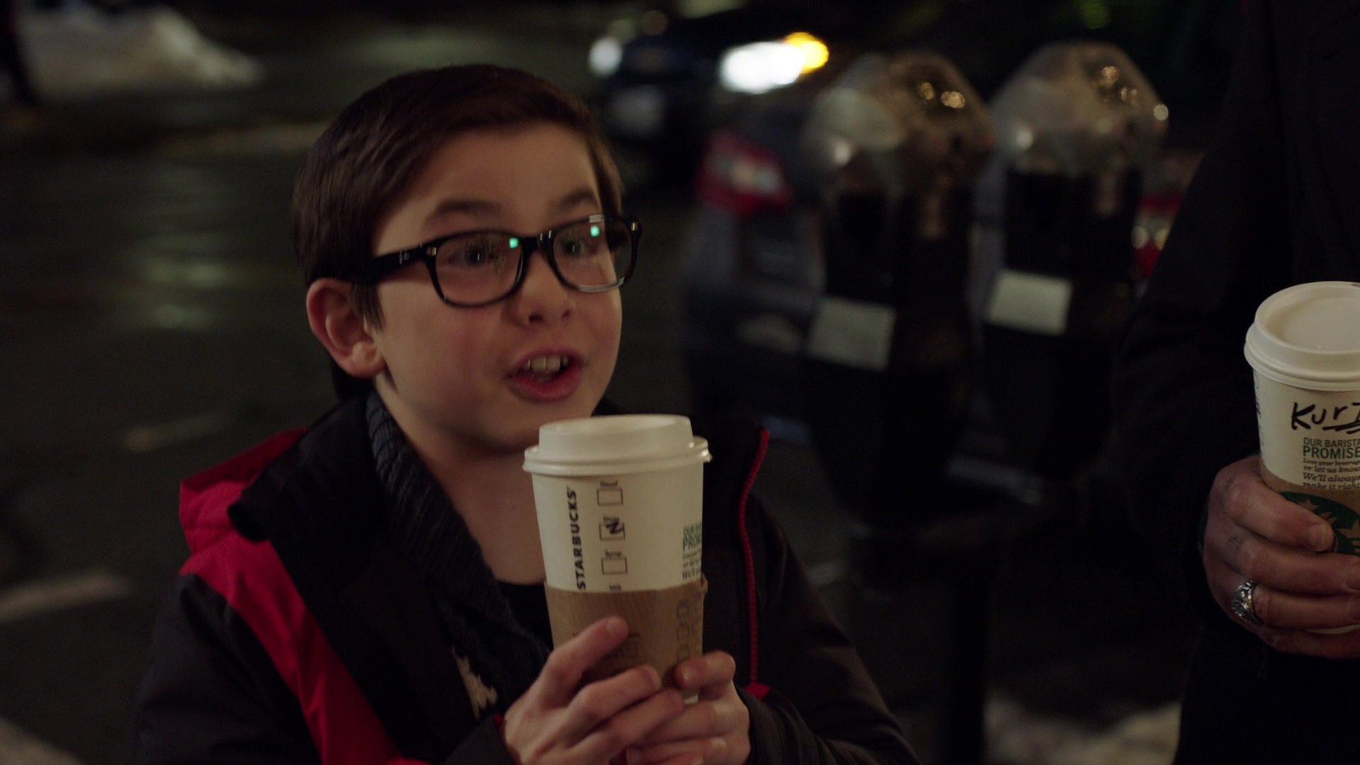 starbucks coffee in daddy u2019s home 2  2017  movie