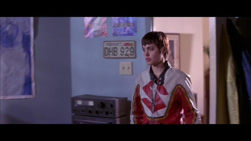 Suzuki Motorcycle Jacket Worn by Angelina Jolie in Hackers (1995) Movie