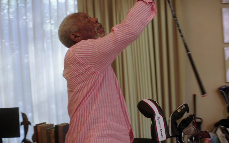 TaylorMade Golf Clubs Used by Morgan Freeman in Just Getting Started (1)
