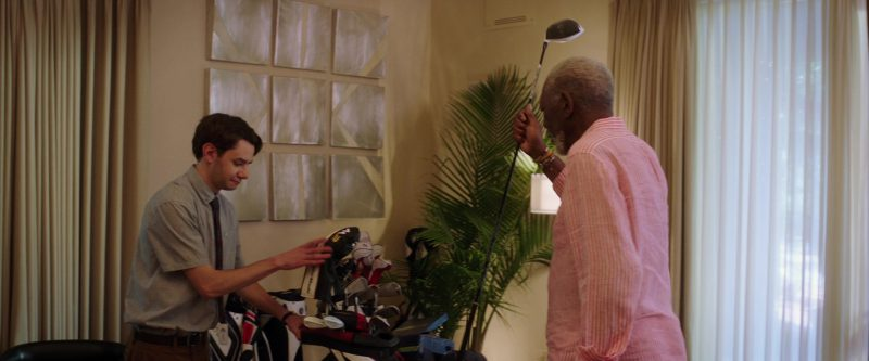 TaylorMade Golf Clubs Used by Morgan Freeman in Just Getting Started (2017) - Movie Product Placement