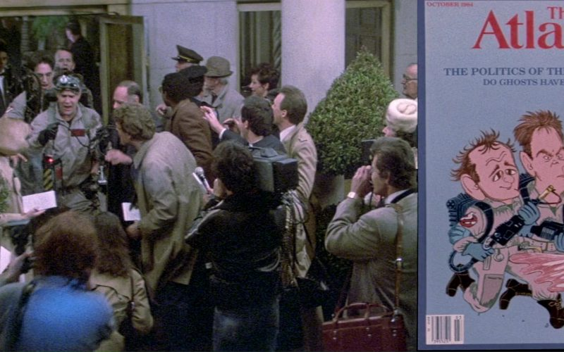 The Atlantic Magazine in Ghostbusters (1984)