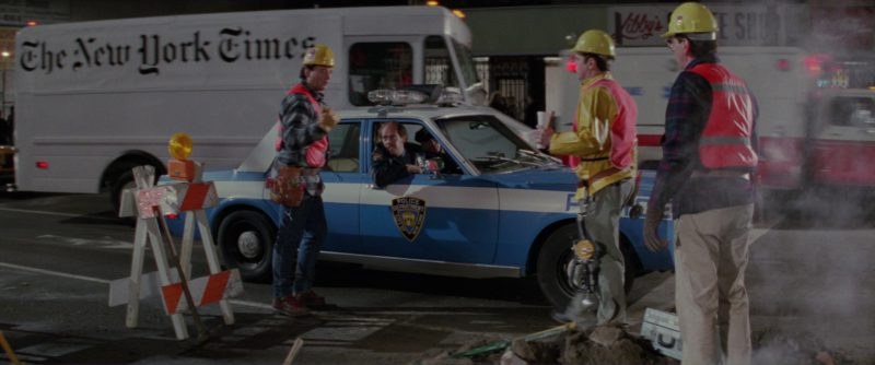The New York Times Car in Ghostbusters 2 (1989) Movie Product Placement