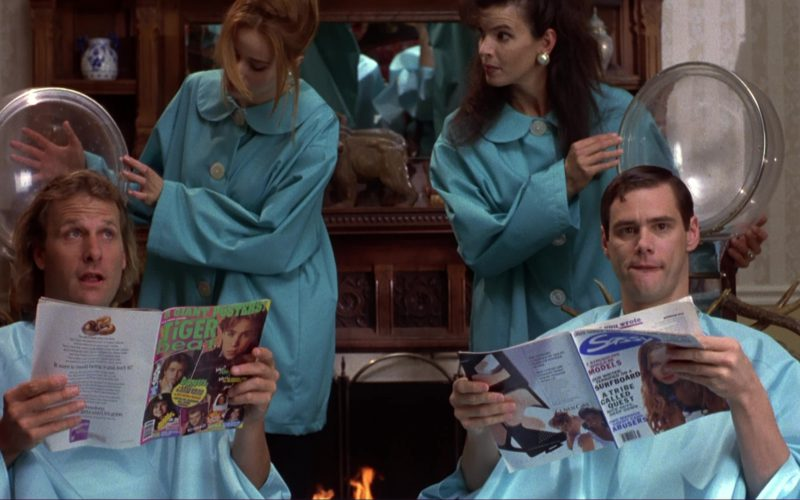 Tiger Beat Read by Jim Carrey and Sassy Magazine Read by Jeff Daniels in Dumb and Dumber