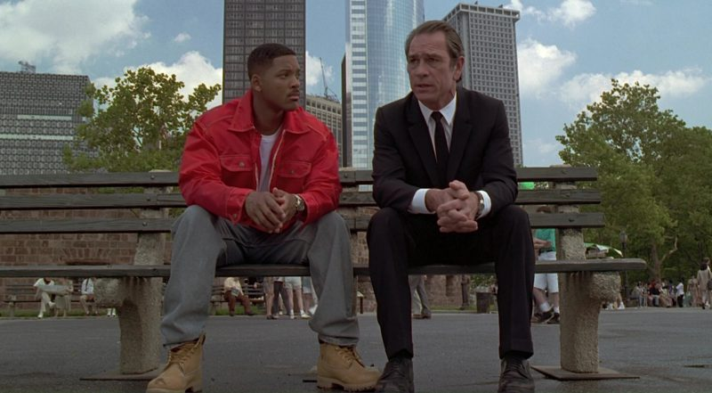 Timberland Boots Worn by Will Smith in Men in Black (1997) Movie Product Placement