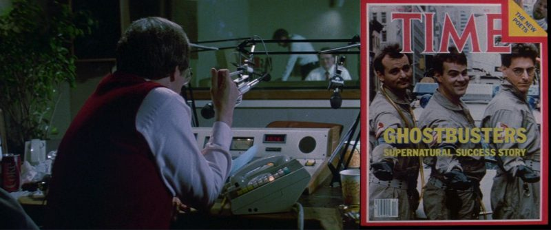 Time Magazine in Ghostbusters (1984) - Movie Product Placement