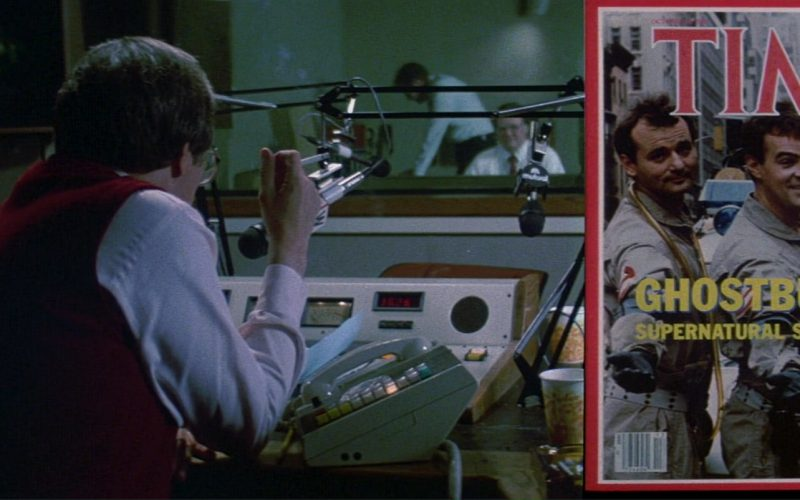 Time Magazine in Ghostbusters (1984)