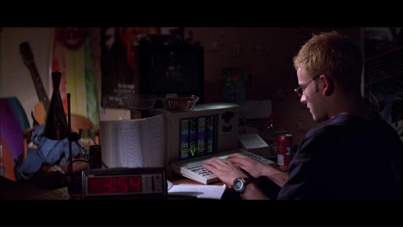 Timex Clock, Jolt Cola And Casio Protrek ATC-1100 Watch Used by Jonny Lee Miller in Hackers (1995) Movie