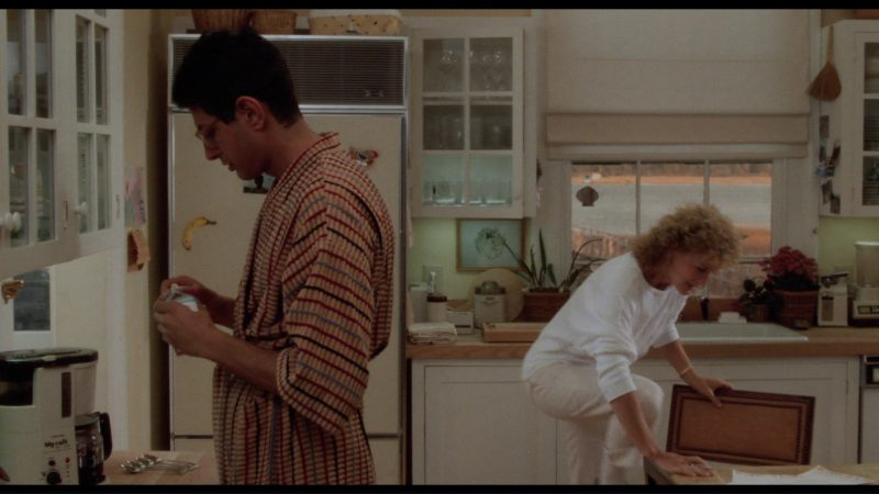 Toshiba My Cafe Mill and Drip Coffee Maker Used by Jeff Goldblum in The Big Chill (1983) Movie Product Placement
