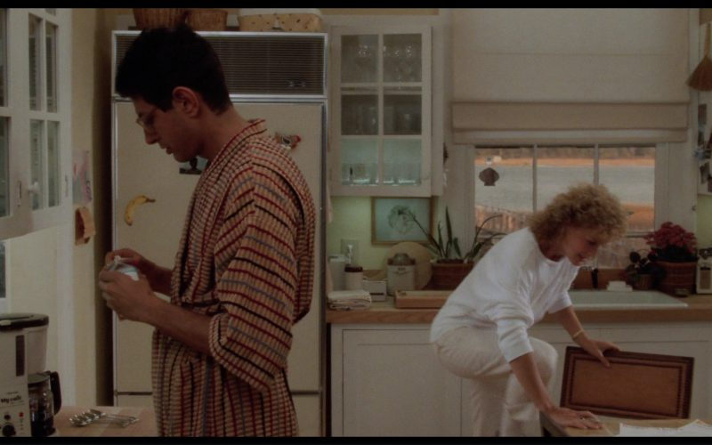 Toshiba My Cafe Mill and Drip Coffee Maker Used by Jeff Goldblum in The Big Chill