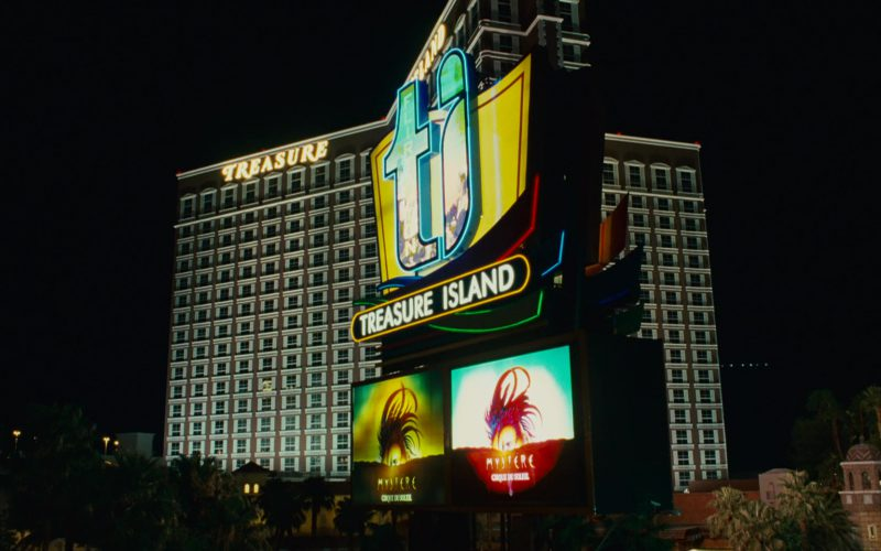 Treasure Island Hotel and Casino in Knocked Up