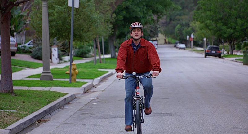Trek Bicycle Used by Steve Carell in The 40-Year-Old Virgin (2005) Movie Product Placement