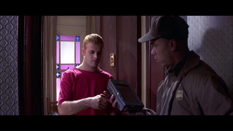 UPS in Hackers (1995) Movie Product Placement