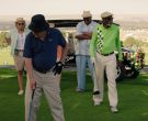 Under Armour Blue Polo Shirt And Black Bucket Hat Worn by Tommy Lee Jones in Just Getting Started (2)