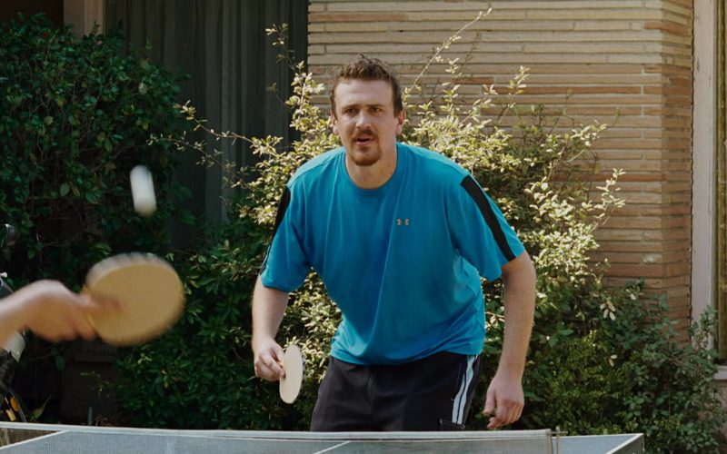 Under Armour Blue T-Shirt Worn by Jason Segel in Knocked Up (1)