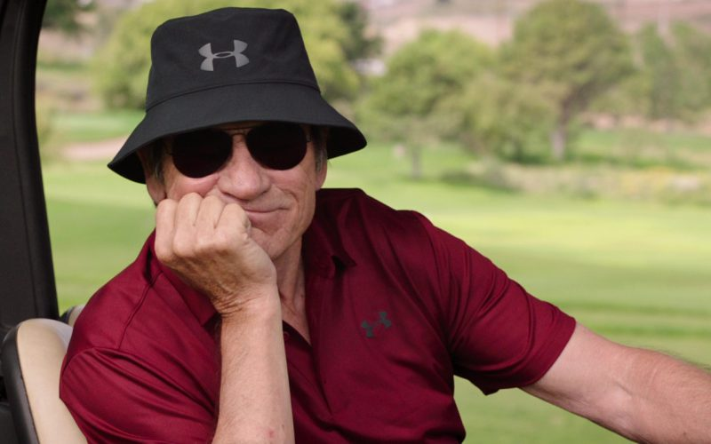 Under Armour Bucket Hat And Polo Shirt Worn by Tommy Lee Jones in Just Getting Started (4)