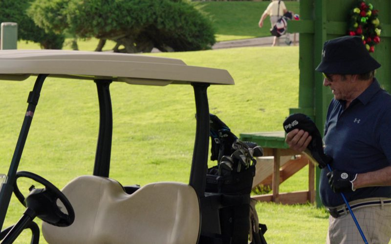 Under Armour Bucket Hat, Polo Shirt and Ping Golf Club Used by Tommy Lee Jones in Just Getting Started (1)