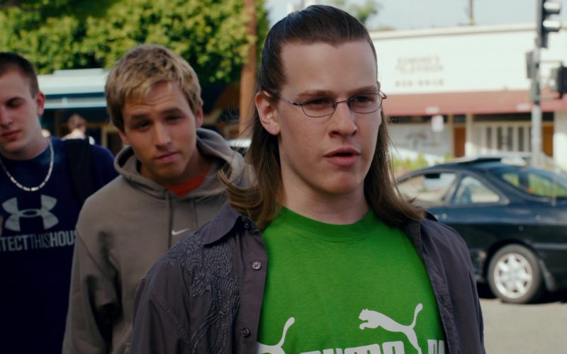 Under Armour T-Shirt, Nike Hoodie and Puma Tee in Superbad (1)