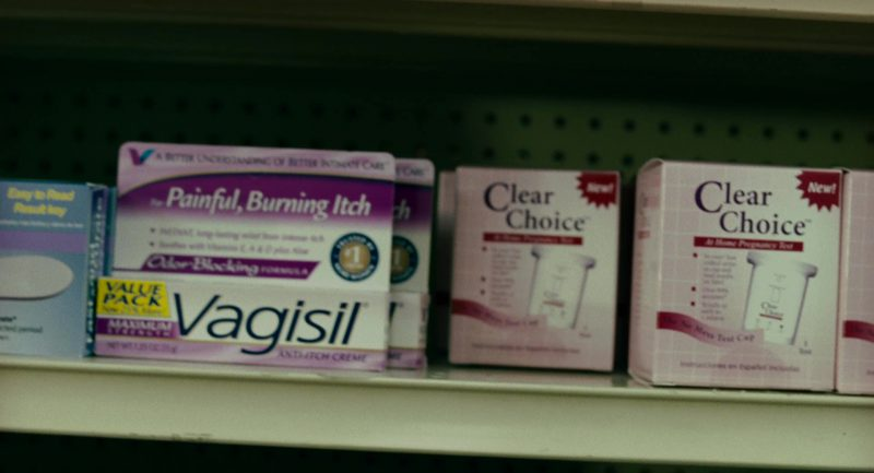 Vagisil and Clear Choice in Knocked Up (2007) - Movie Product Placement