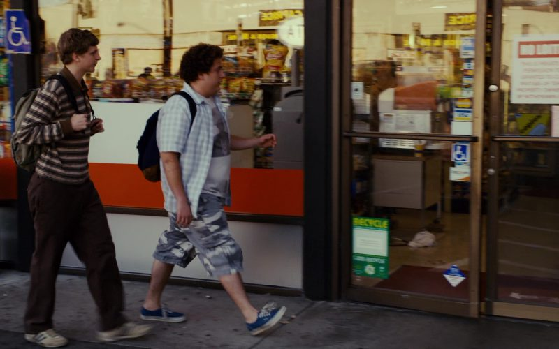 Vans Blue Sneakers Worn by Jonah Hill in Superbad (1)