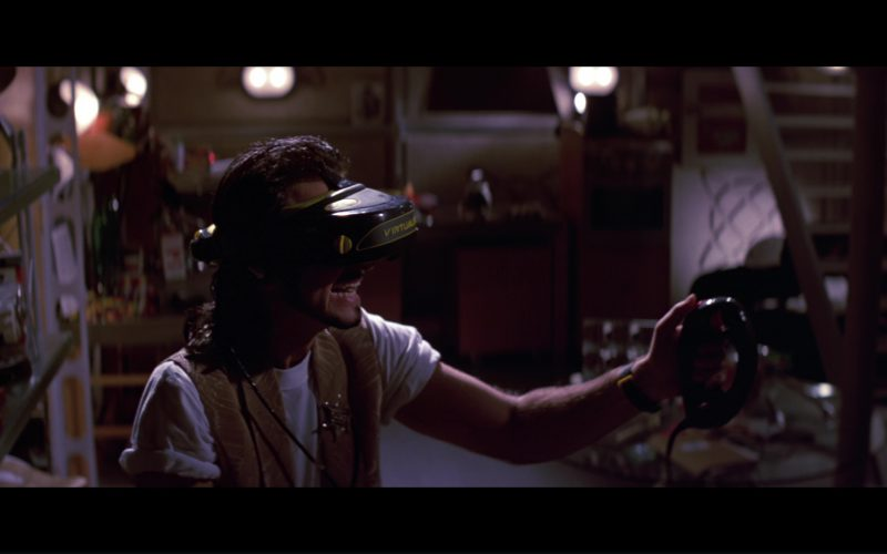Virtuality Virtual Reality Headset Used by Fisher Stevens in Hackers (1)