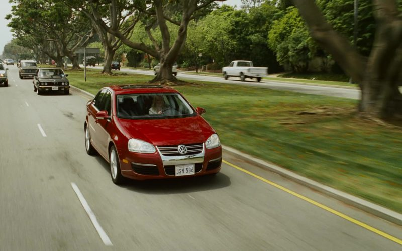 Volkswagen Jetta A5 [Typ 1K] Red Car Used by Katherine Heigl in Knocked Up (1)