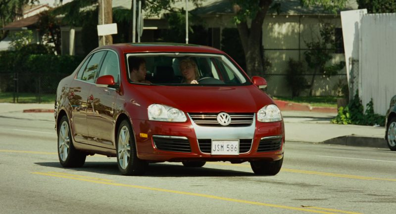 Volkswagen Jetta A5 [Typ 1K]  Red Car Used by Katherine Heigl in Knocked Up (2007) - Movie Product Placement