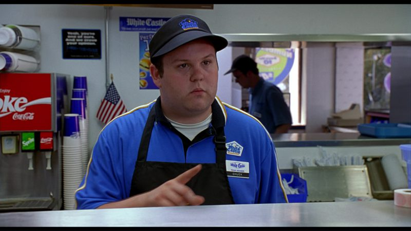 White Castle Restaurant, Coca-Cola, Sprite in Harold & Kumar Go to White Castle (2004) - Movie Product Placement