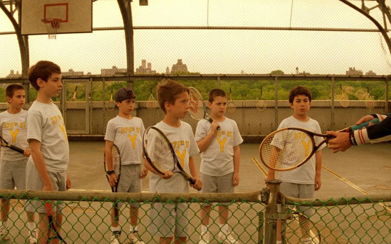 Wilson Racquets in The Royal Tenenbaums