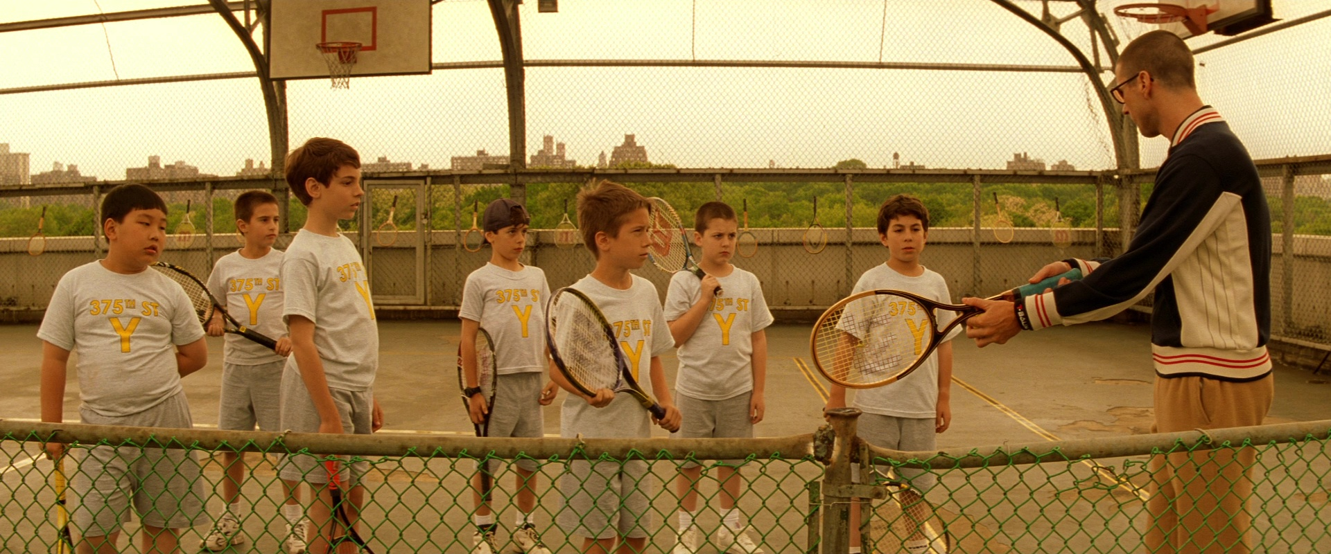 Movie Quote of the Day – The Royal Tenenbaums, 2001 (dir ... |Royal Tenenbaums Tennis Scene