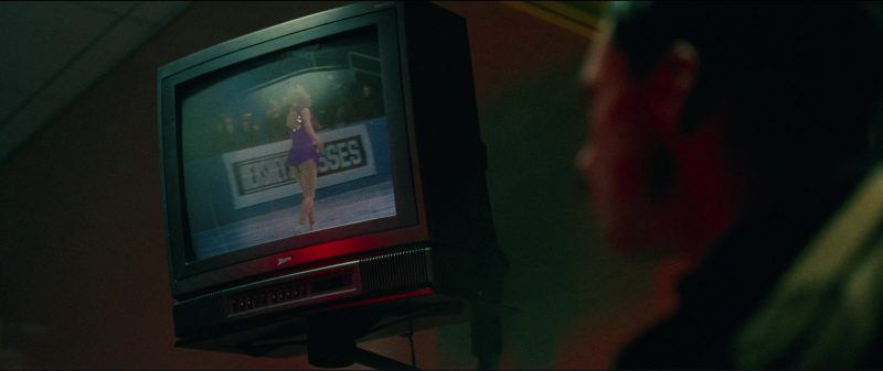 Zenith TV and Hershey's Kisses Billboard in I, Tonya (2017) - Movie Product Placement