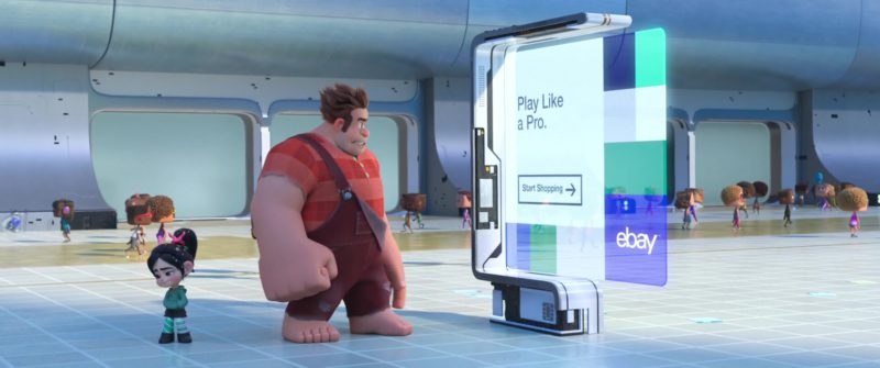 eBay Building in Ralph Breaks the Internet: Wreck-It Ralph 2 (2018) - Animation Movie Product Placement