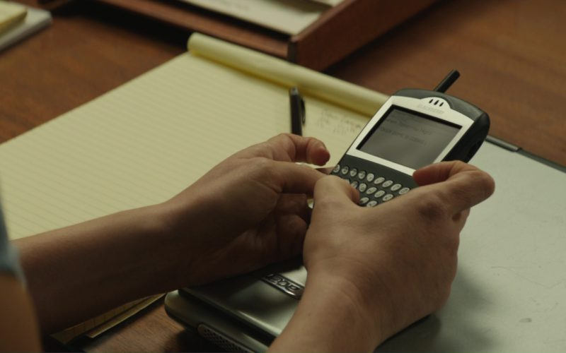 Acer Laptop And Blackberry Phone Used by Jessica Chastain in Molly's Game (1)