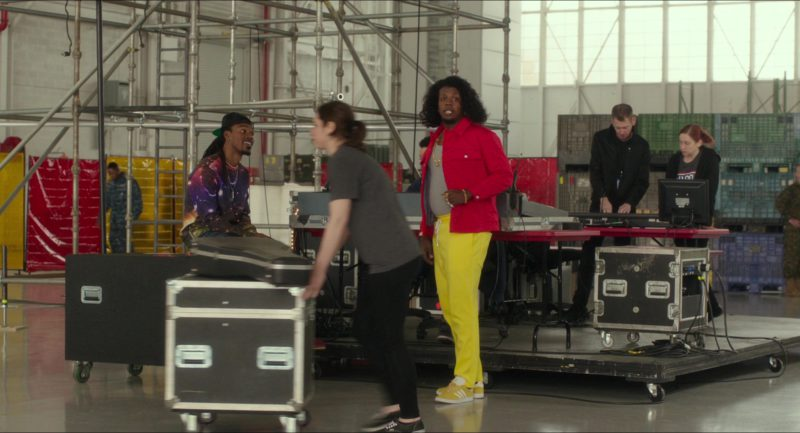 Adidas Yellow Shoes Worn by Trinidad James in Pitch Perfect 3 (2017) - Movie Product Placement