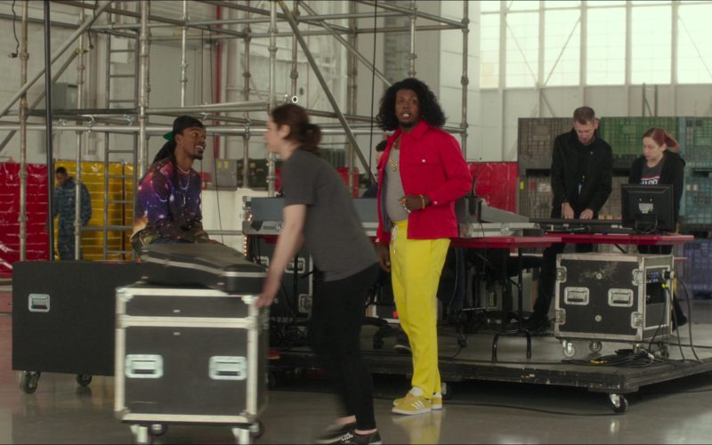 Adidas Yellow Shoes Worn by Trinidad James in Pitch Perfect 3 (1)