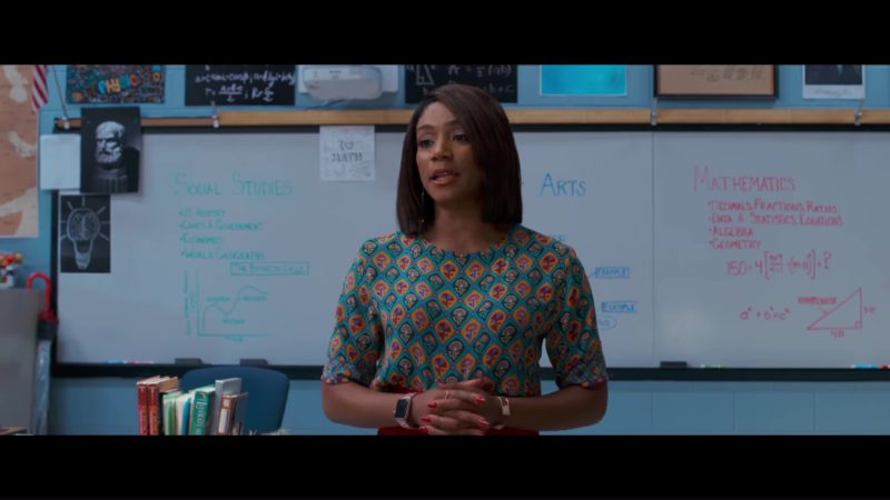 Apple Watch Worn by Tiffany Haddish in Night School (2018) Movie Product Placement