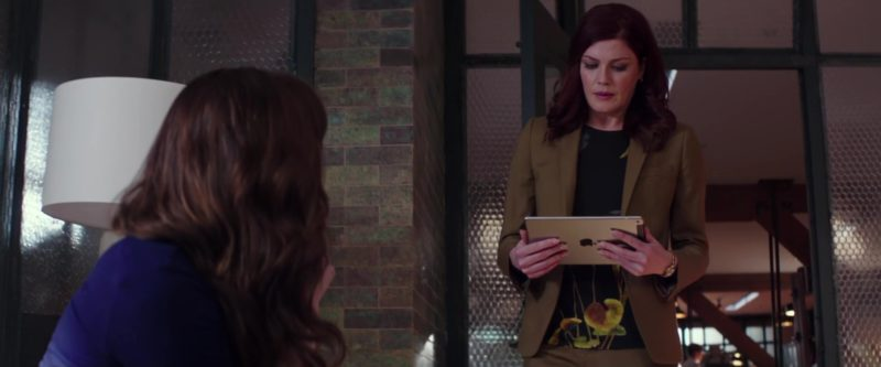 Apple iPad Used by Michelle Harrison in Fifty Shades Freed (2018) Movie Product Placement