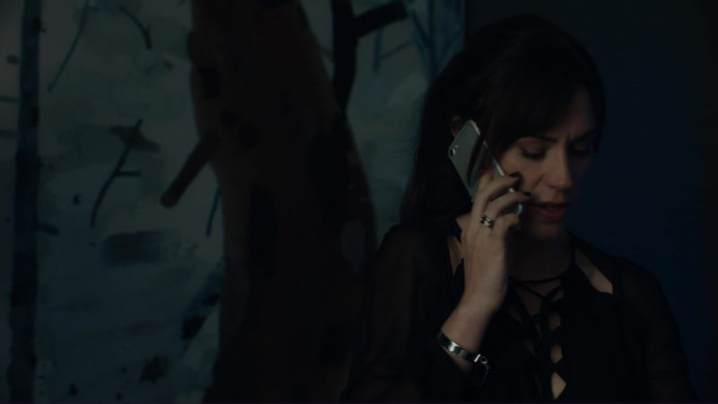 Apple iPhone 7 Used by Maggie Siff in Billions: The Wrong Maria Gonzalez (2018) TV Show Product Placement