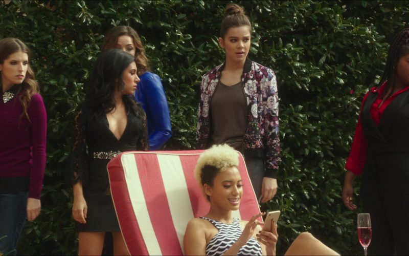 Apple iPhone Smartphone Used by Andy Allo in Pitch Perfect 3