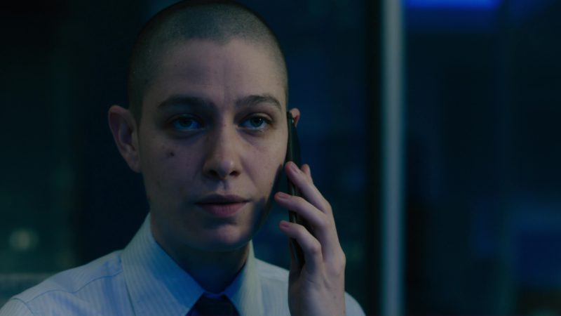 Apple iPhone Used by Asia Kate Dillon in Billions: Flaw in the Death Star (2018) - TV Show Product Placement