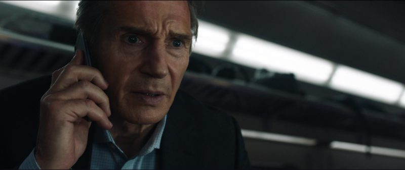 Apple iPhone 6/6S Used by Liam Neeson in The Commuter (2018) Movie Product Placement